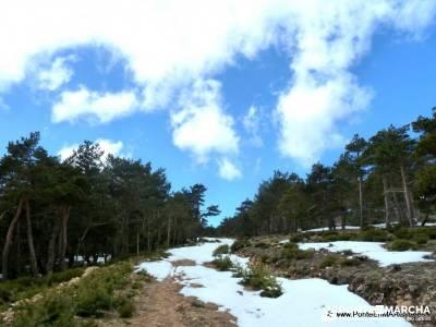Peña Quemada; ruta por carretera; gps senderismo;profesionalidad
